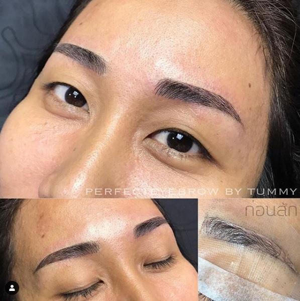 รีวิวลูกค้าสักคิ้วกับ Perfect Eyebrows By Tummy ร้านสักคิ้ว