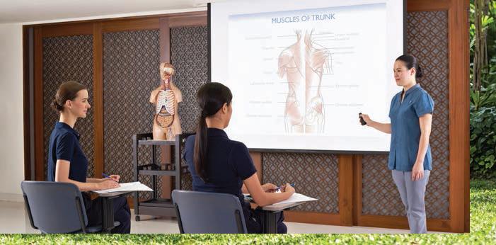 โรงเรียนสอนวิชาชีพความงามเเละสุขภาพสปาชีวาศรม