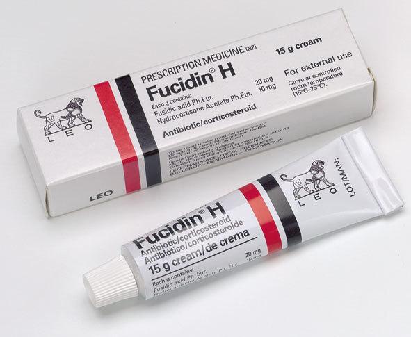 ยาแต้มสิว Fucidin สิวยุบ