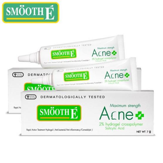 ยาแต้มสิว Smoot E Acne Hydrogel Plus