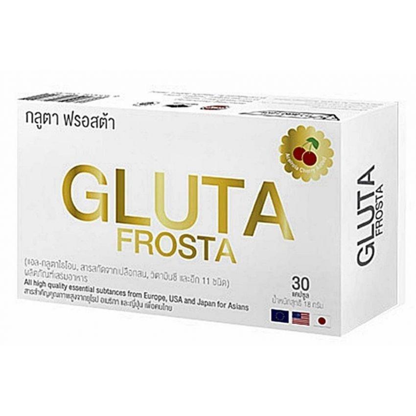 Glutafrosta ช่วยให้ผิวพรรณขาวกระจ่างใส