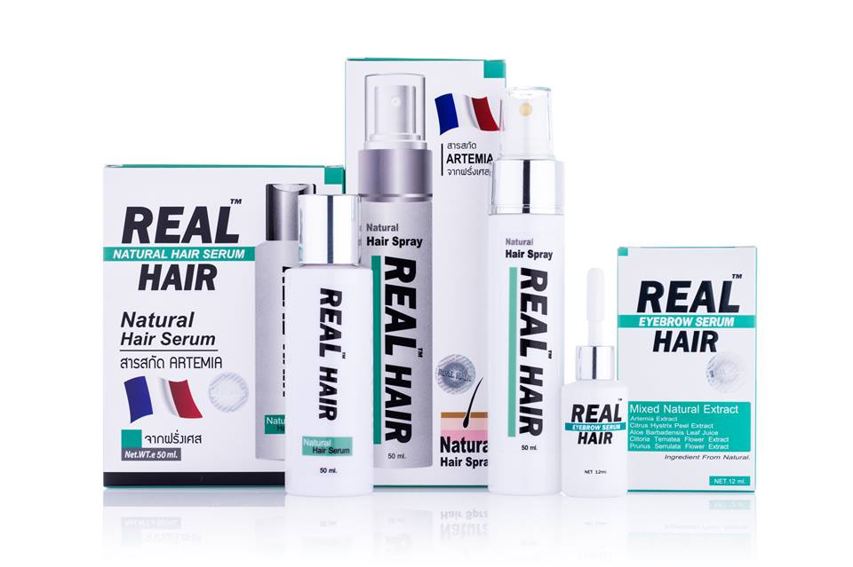 Real Hair Thailand เรียลแฮร์ เซรั่มปลูกคิ้ว ขนตา จอน หนวด เครา