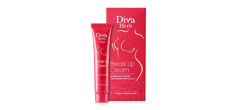 Diva Herb Breast Up Cream อกกระชับอัพไซส์ ด้วยครีมกระชับทรวงอก