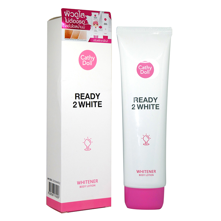Cathy Doll Ready 2 WHITE Whitener Body Lotion