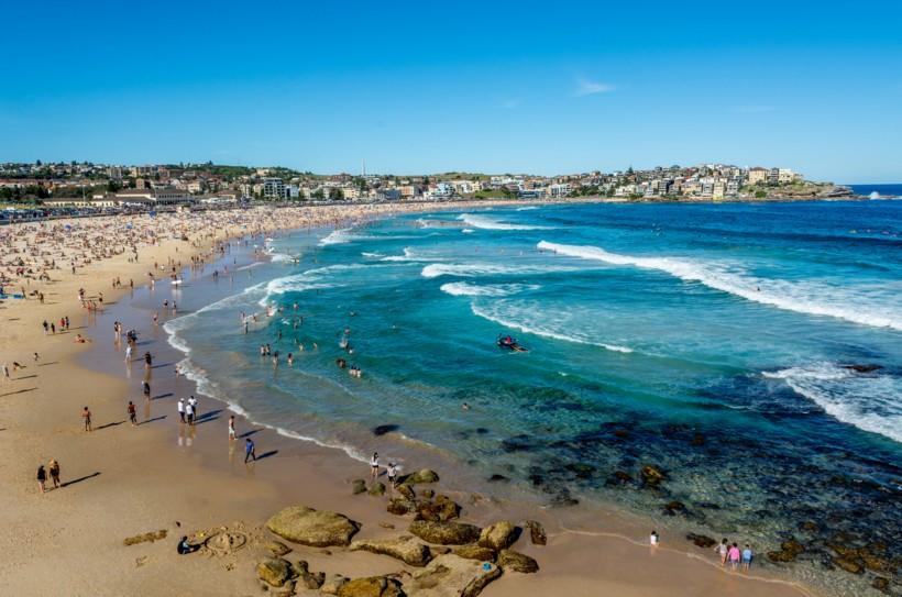 บอนไดบีช (Bondi Beach) เมืองซิดนีย์ (Sydney)