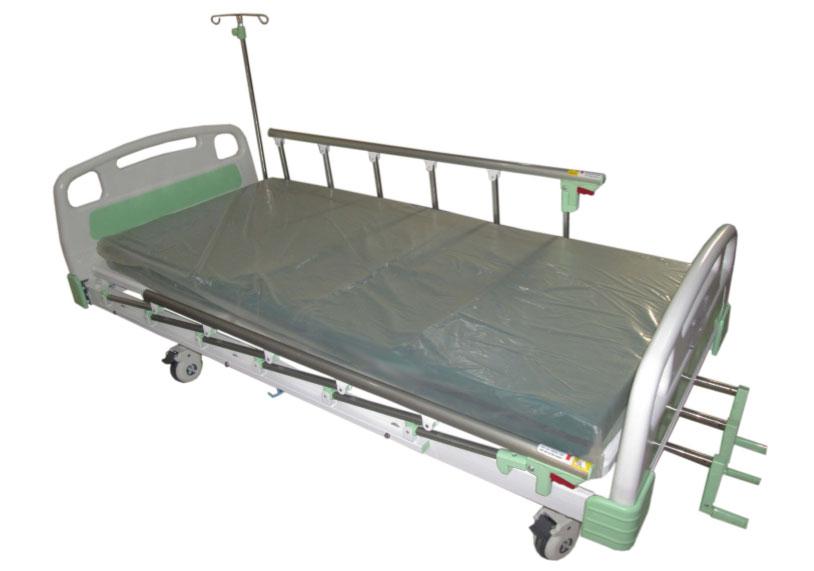 เตียงผู้ป่วยหมุนมือ 3 ไกร์