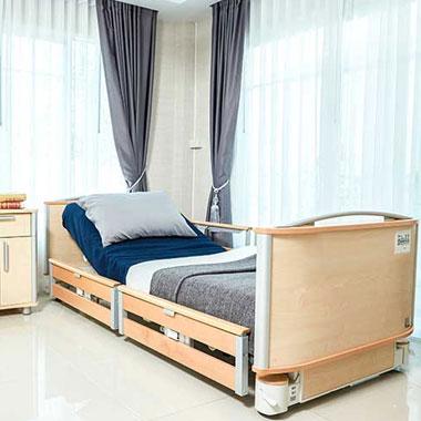 เตียงไฟฟ้า เตียงคนไข้ รุ่น Floore V3 นำเข้าจากประเทศฝรั่งเศส