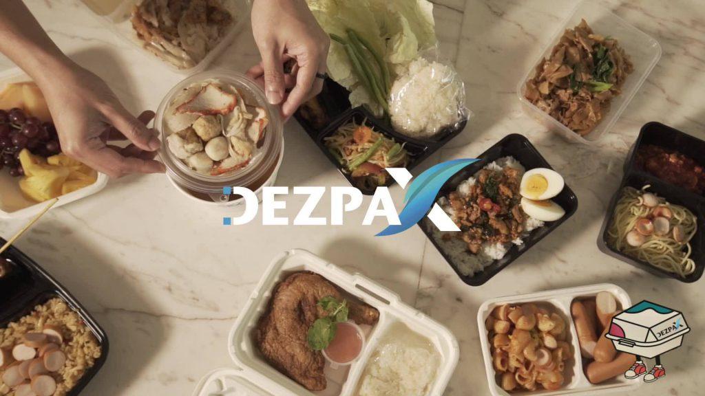 DezpaX กล่องข้าวพร้อมโลโก้ที่เหมาะกับร้านอาหารคุณ