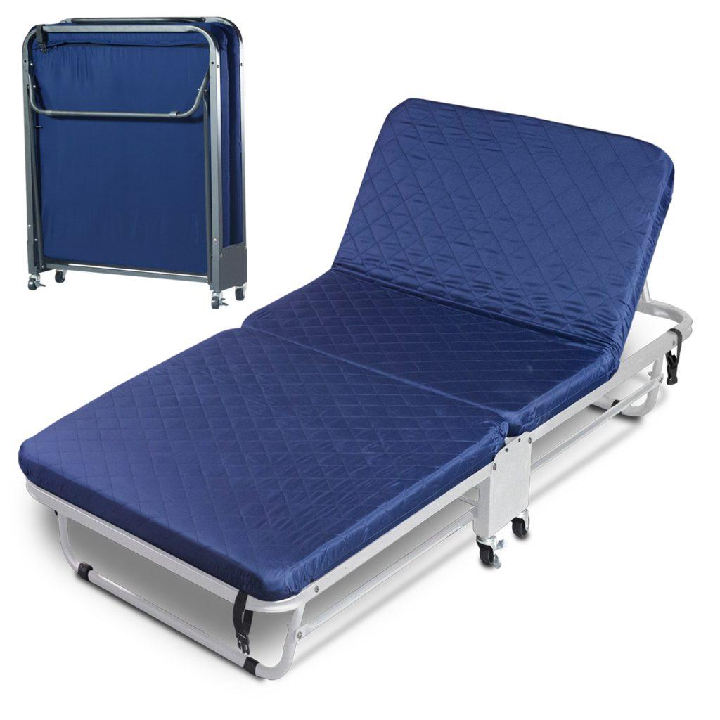 Thaibull เตียงผู้ป่วย เตียงเสริมพับได้ พร้อมเบาะรองนอน