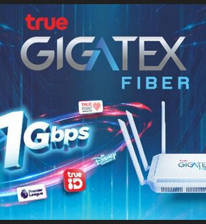 True Gigatex Fiber + Inno Hybrid Plus + เน็ตมือถือ 10 GB