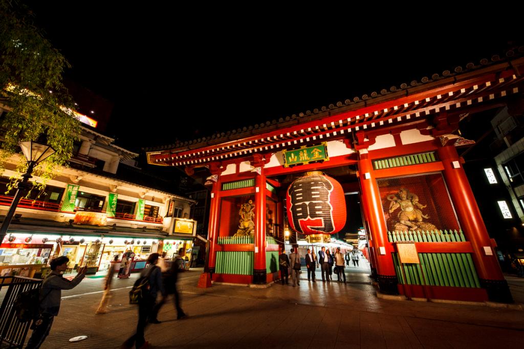 วัดเซนโซจิ (Sensoji Temple) โตเกียว