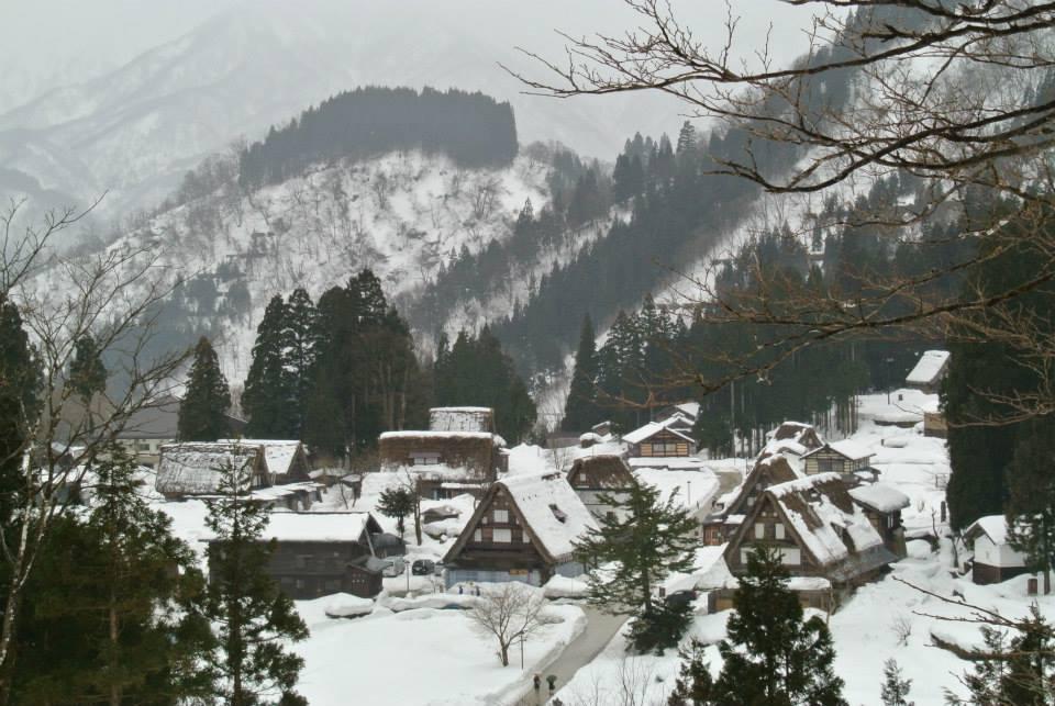 หมู่บ้านโบราณโกคายามะ (Gokayama) โทยามะ